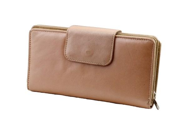 Elie Large Leather Wallet