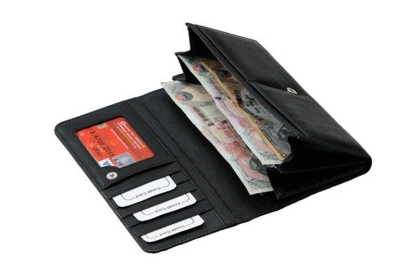 Ladies Leather Wallet