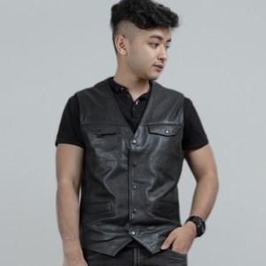 Leather Urbane Vest