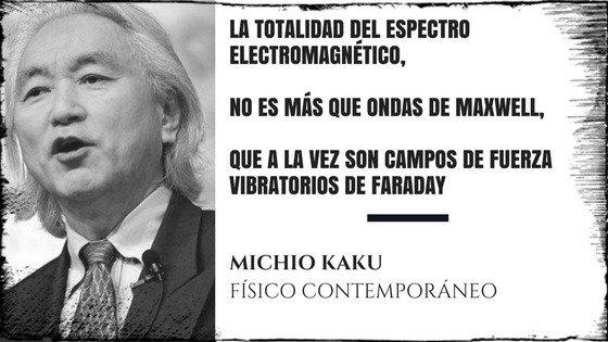 Michio Kaku Espectro Electromagnético
