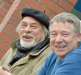 Günther Groeneveld und Herbert Zinnow, Foto © Klaus Ortgies