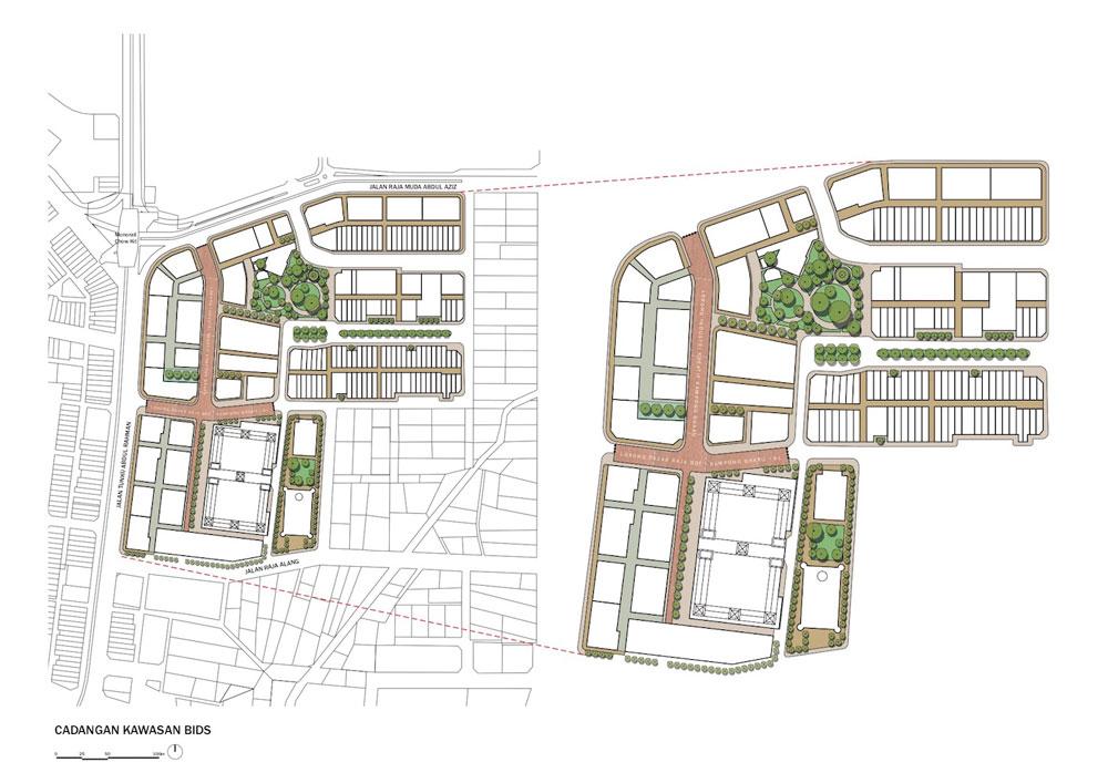 Kampong Bharu Re-development Master Plan by Humanitarian Capital