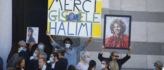 Les combats féministes et anticolonialistes de l'avocate Gisèle Halimi, décédée le 28 juillet dernier, devraient avoir droit aux honneurs de la République. © Berzane Nasser/Abaca