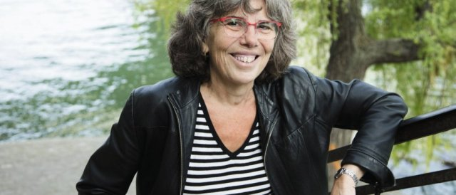 Michèle Audin. © F. Montavani Gallimard/Opale/leemage