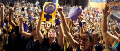 Journée internationale de la femme, à Montevideo, en Uruguay, le 8 mars 2020.  © Deborah Elenter/Reuters