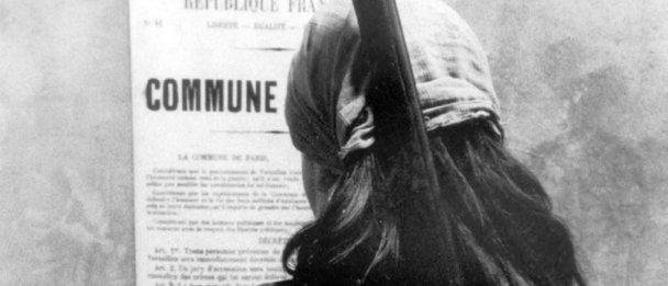 Image extraite du film «La Commune (Paris, 1871)», film historique français en deux parties de Peter Watkins, 2000. © DocAnciens/docpix.fr