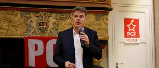 Le secrétaire national du PCF, Fabien Roussel. © Charly Triballeau/AFP