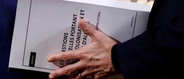 Rapport B. Stora sur la mémoire de la colonisation et de la guerre d'Algérie/@AFP