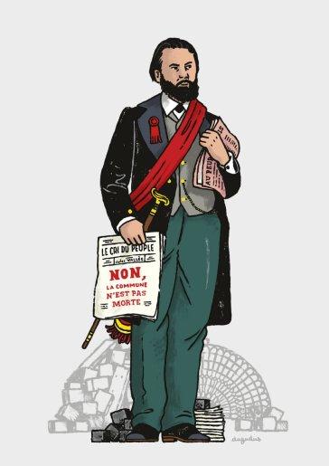 Jules Vallès (1832-1885). © Dugudus