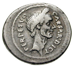 Image result for julius caesar coin