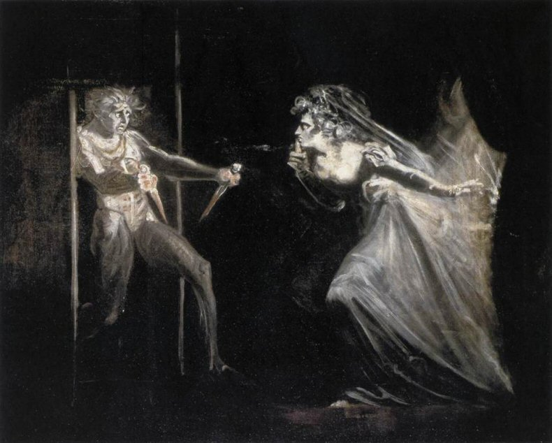 Johann Heinrich Füssli Lady Macbeth with the Daggers, 1812