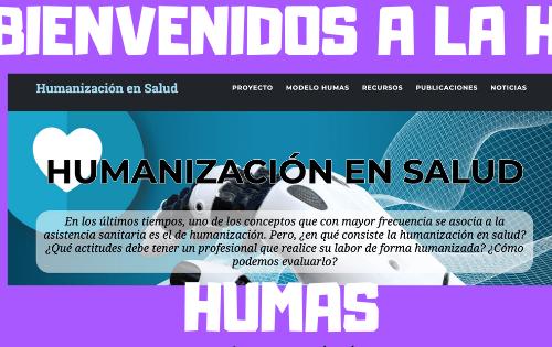 Bienvenidos HUMAS – Humanización en salud