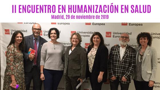 HUGES en el II Encuentro de Humanización de la Salud