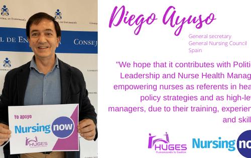 I support Nursing Now – HUGES