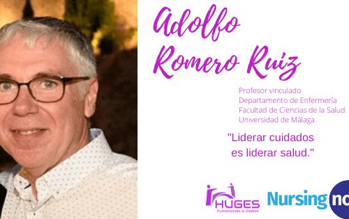 Adolfo Romero con Nursing Now HUGES
