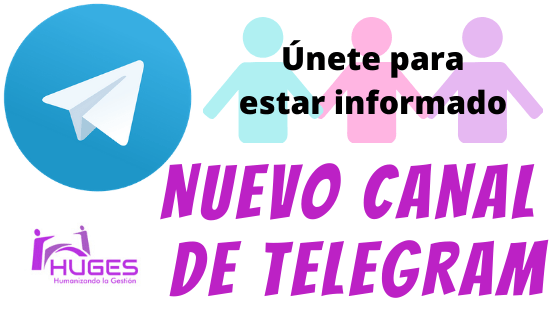 Canal de Telegram de HUGES