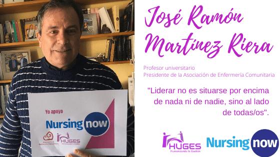 """José Ramón Martínez Riera""""Liderar no es situarse por encima de nada ni de nadie, sino al lado de todas/os."""""""