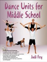 Dance Units for Middle school