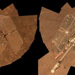 comparison Opportunity rover