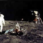 Astronaut on the Lunar surface
