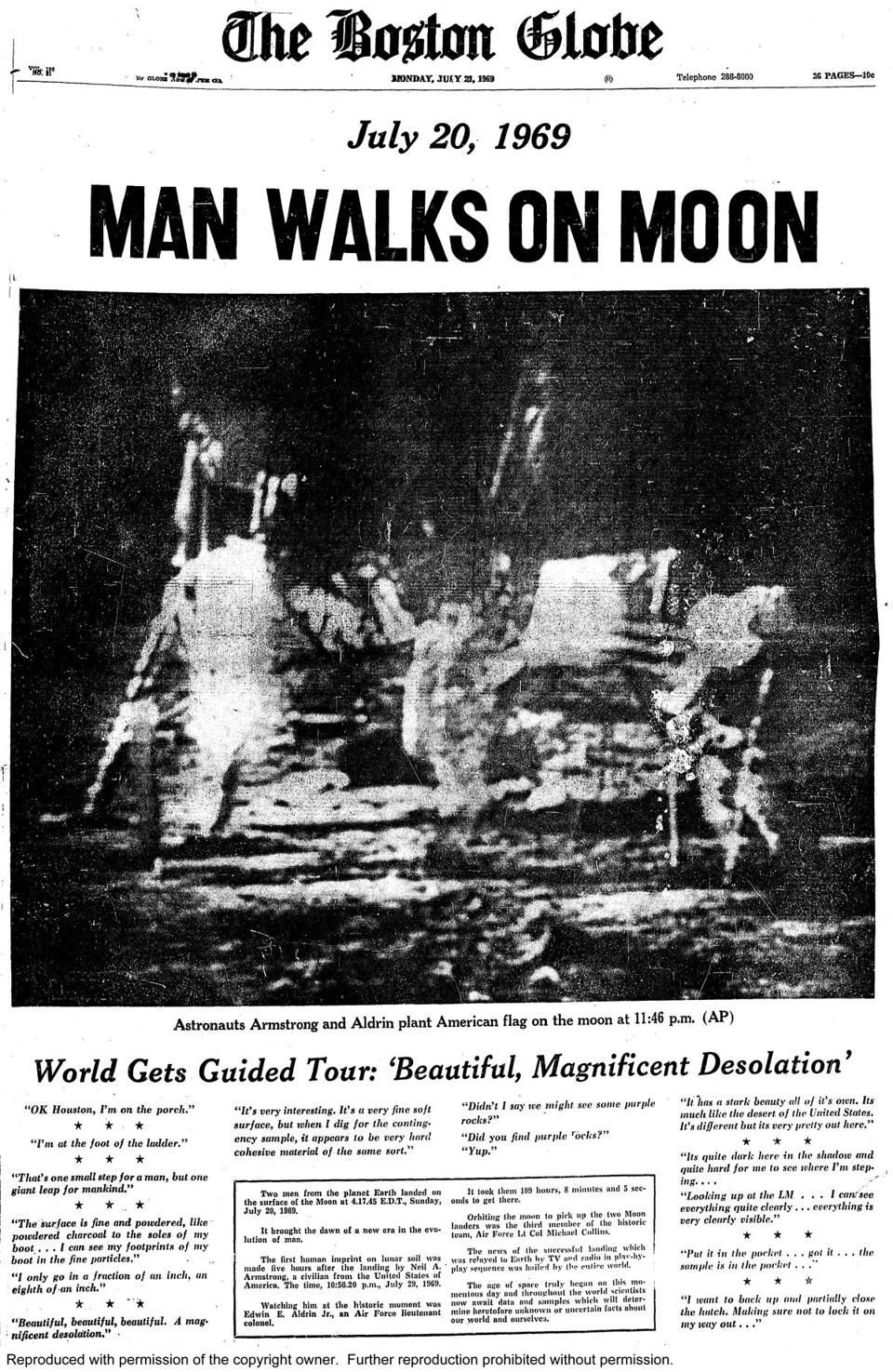 Humans' First Landing on the Moon | The Human Adventures in