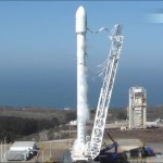 SpaceX Falcon 9 Upgrade Test Fire