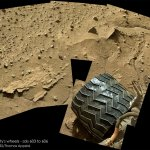 Curiosity wheels Sol 603 606