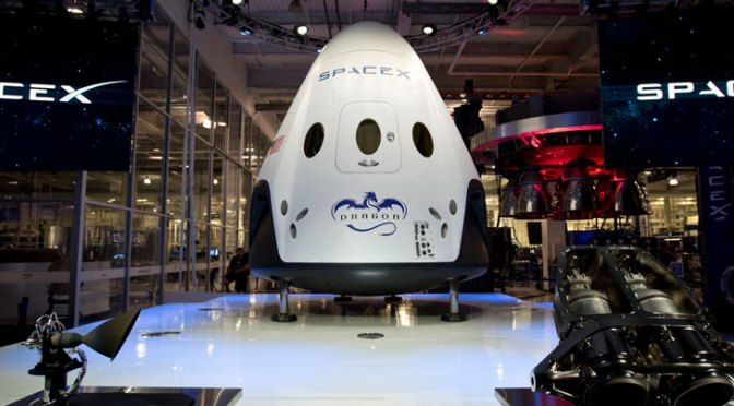 SpaceX Dragon V2 Unveil