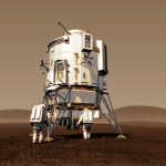 Pressurized hab on Mars