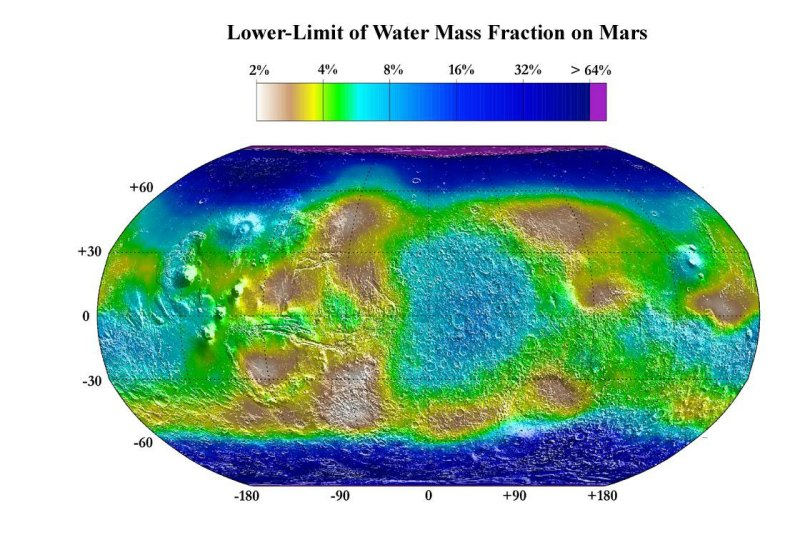 Water-Map-on-Mars