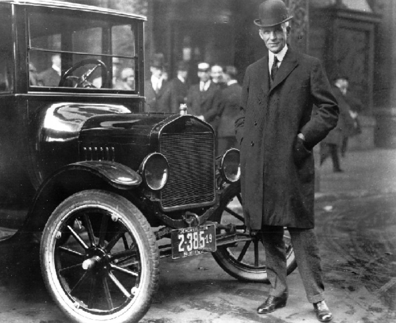 The First Car Henry Ford
