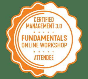 Management 3.0 Fundamentals Badge
