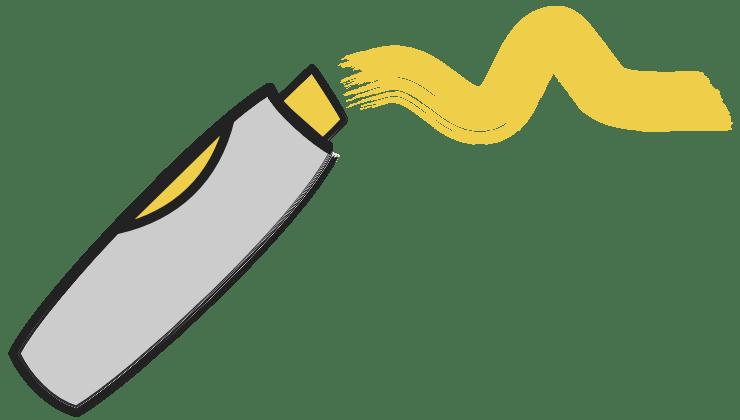 Marker Gelb