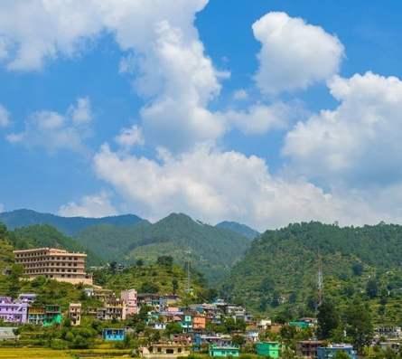 Rahu Mandir Pauri Paithani Village