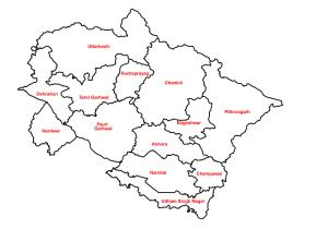 Uttarakhand A hill state of India