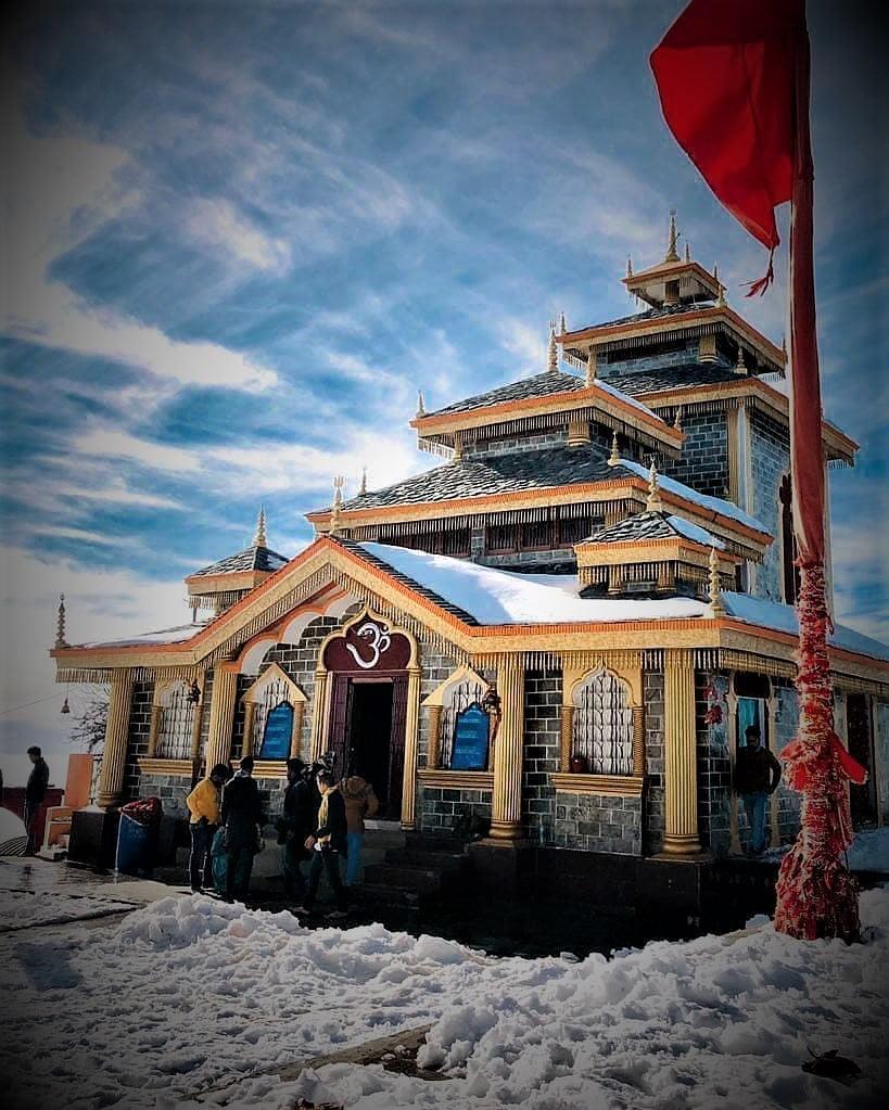Ancient Siddhpeetha Maa Surkanda Devi Temple