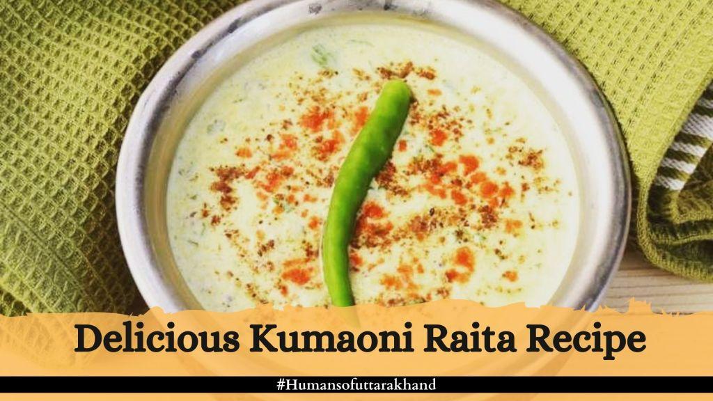 Delicious Kumaoni Raita Recipe