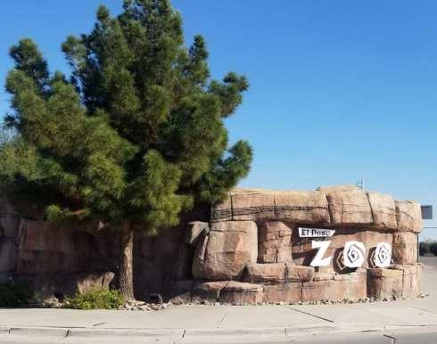 el paso zoo sign
