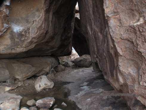 Hueco Tanks Mountains - Natural Shelter 2