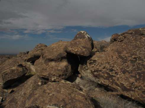 Mountains and Boulders