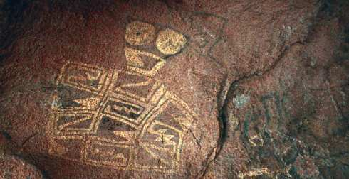 Pictograph - Native American Rock Painting