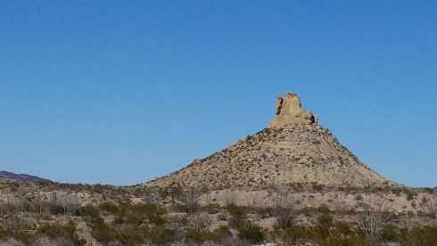 Big Bend Mountains National Park - During Government Shutdown