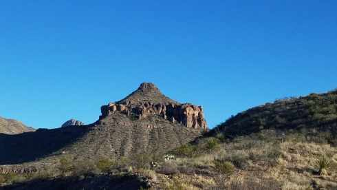 Big Bend National Park Mountain Top - Chisos Basin During Government Shutdown
