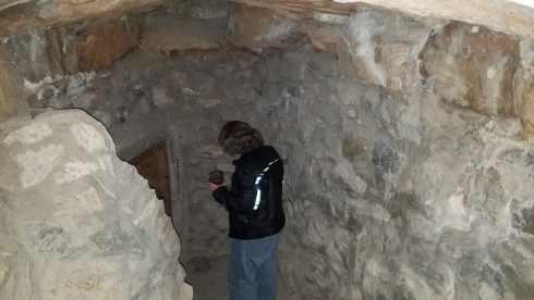 Cave Entry at La Kiva Underground Bar and Restaurant
