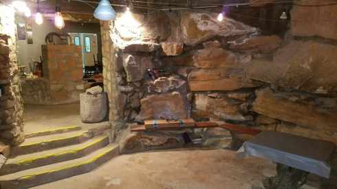 La Kiva Underground Bar and Restaurant Entryway