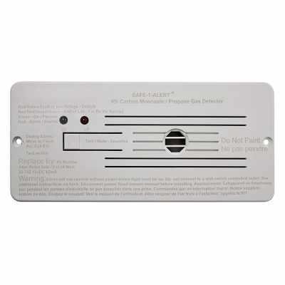 MTI Industries Safe T Alert 35 Series - Dual LP/CO Alarm For RV - Flush Mount - 35-742-WT