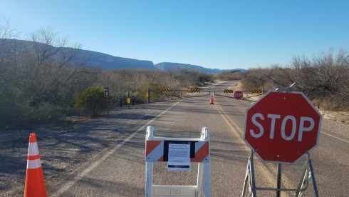 Santa Elena Canyon Access Closed