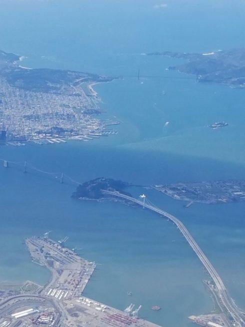 Landing In San Francisco