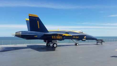 U.S. Navy Blue Angels USS Lexington