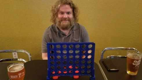 Connect 4 at Rebel Toad Brewing Co - Corpus Christi